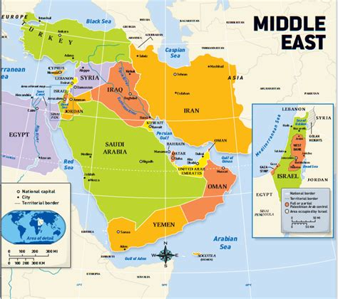 middle east map political this is a political map of the middle east it shows the