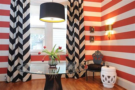 curtains that go with red walls black curtains and red wall stripes
