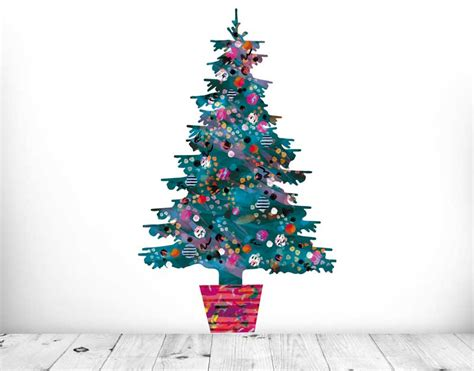 evie kemp green christmas tree your decal shop nz
