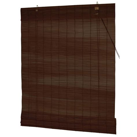 Matchstick Blinds Smart Home Products 120 X 210cm Mahogany Indoor Matchstick