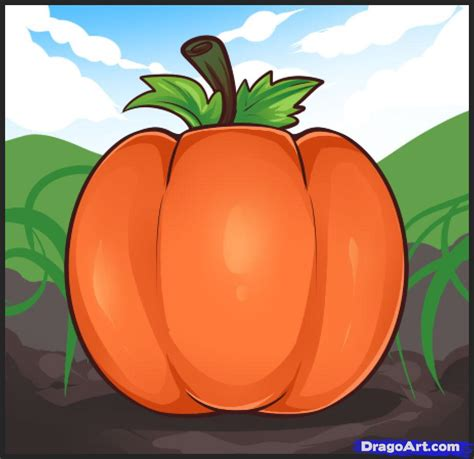 draw a pumpkin for how to draw pumpkins step by step food pop culture