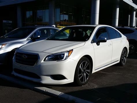 subaru legacy 2017 white 2017 subaru legacy 2 5i w sport technology white for 30498