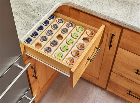 K Cup Shelf by 4cdi Series Trim To Fit K Cup Drawer Insert Kbis Pressroom