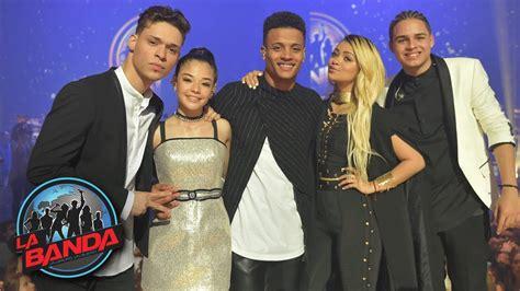 la banda de los recuerda todas las presentaciones de los finalistas de la banda antes de convertirse en mix5