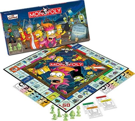 treehouse of horror monopoly the simpsons treehouse of horror horrorpedia