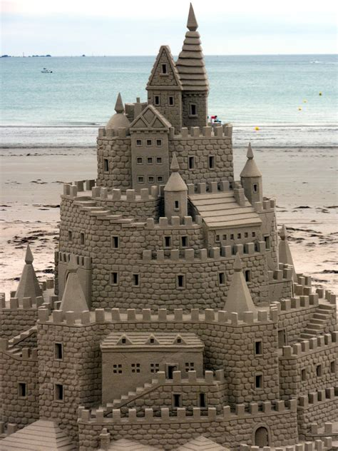 A Castle Of Sand would you rather build a snowman or a sandcastle