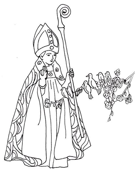 St Coloring Pages Catholic all saints day coloring page coloring home