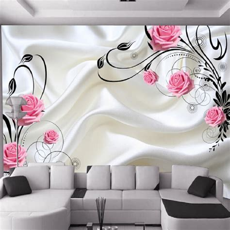 Wall Stickers For Living Room aliexpress com buy can customized large 3d art mural