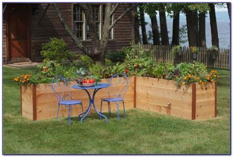 Cedar Gardens by Cedar Raised Garden Beds By Olt Garden Home Decorating