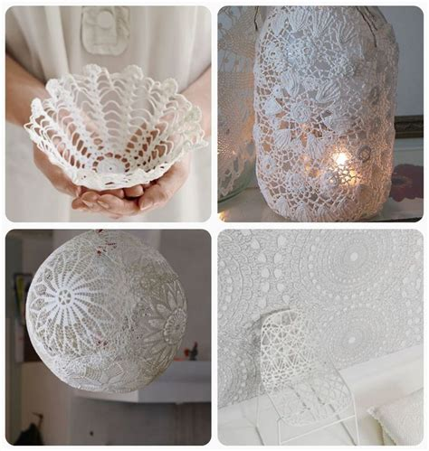 Crafts Using Paper Doilies - 17 best ideas about doilies crafts on doilies