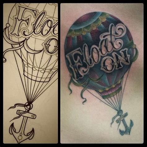 tattoo meaning hot air balloon 74 best images about nothing lasts forever on pinterest