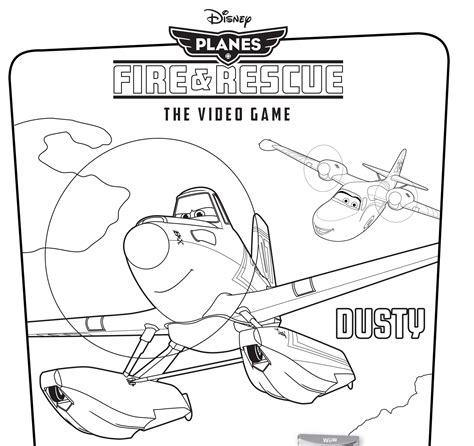 disney s planes fire rescue video game coloring pages