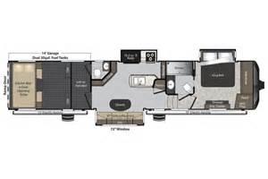 raptor rv floor plans 2016 keystone raptor rv 398ts cer ebay