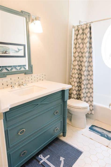 tan and blue bathroom blue and tan kids bathroom cottage bathroom benjamin