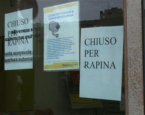 ufficio postale thiene villaverla assalto alle poste due banditi armati