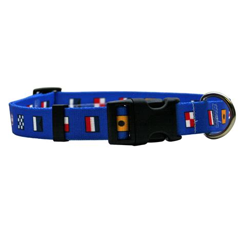 nautical collars nautical standard collar by yellow design
