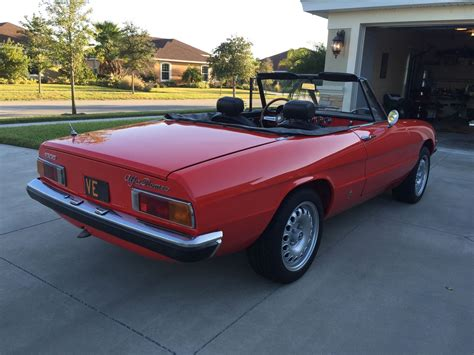 1973 Alfa Romeo 1973 alfa romeo spider fantastic condition