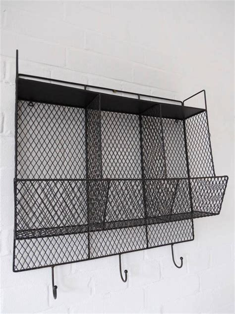 Kitchen Wire Rack by Kitchen Storage Metal Wire Wall Rack Shelving Display