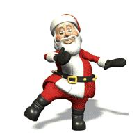 santa clause clip art animations