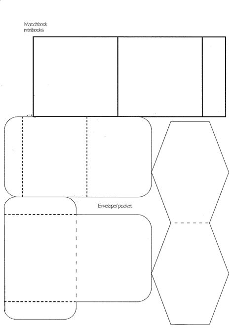 minibook master template download practical pages