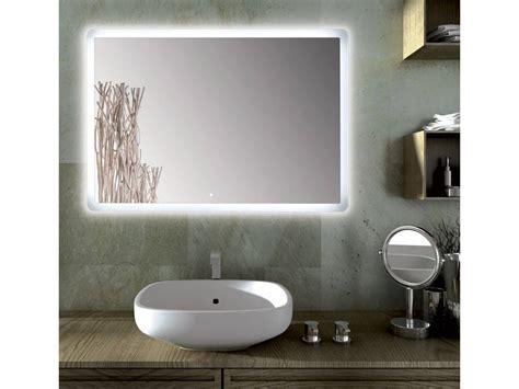 specchio da bagno specchio bagno led rettangolare sole