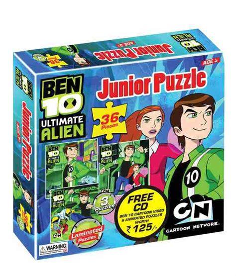 Ultimate Junior 8 ben 10 ultimate junior puzzle buy ben 10 ultimate