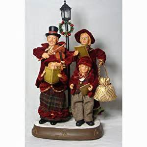 amazon com 24 quot lighted and musical caroler family