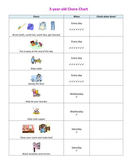chore charts for 6 year olds yahoo image search results children s chore chart challenge parents toddler chores
