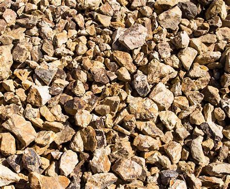 gravel color home blue rock landscape materials