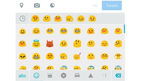 how to use emoji on android android emoji symbols
