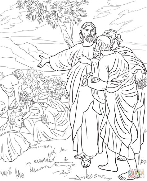 coloring pages for jesus feeding the 5000 coloring pages jesus feeds the 5000 coloring home