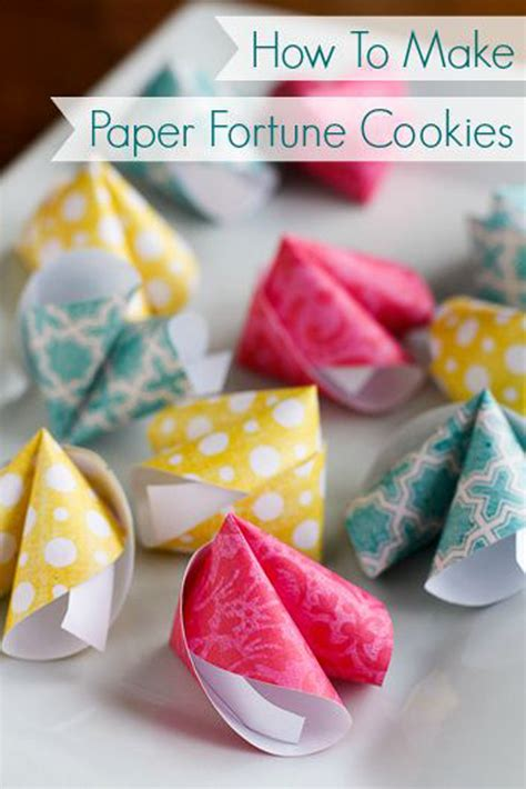 How To Make A Paper Fortune Cookie - valentine s day gift 1 simply tale