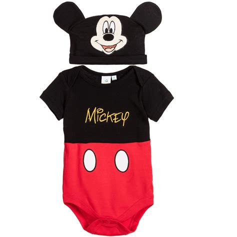 Baby Set Mickey Mouse disney baby baby mickey mouse shortie set childrensalon