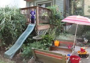 slide deck outdoor play spaces stately kitsch