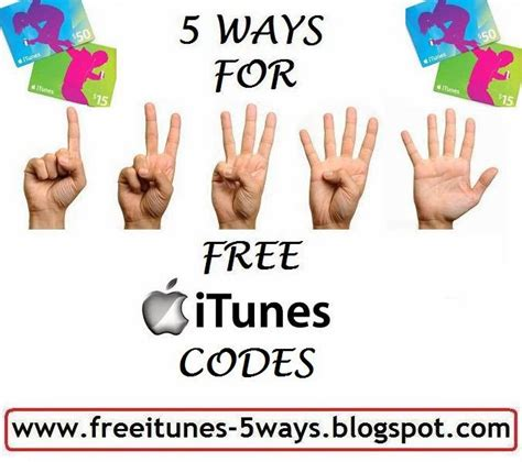 How To Get Itunes Gift Card Code Free - how to get free itunes gift card codes without surveys or downloads