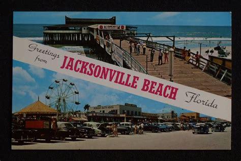 theme park jacksonville fl old pier oecan amusement rides stores signs cars