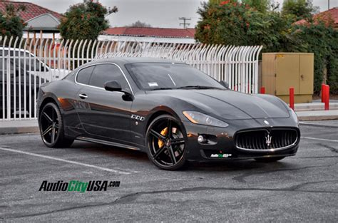 Black On Black Maserati by Black Rims For Maserati Giovanna Luxury Wheels