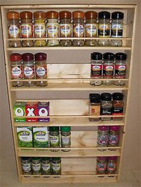How To Hang Spice Rack Bookshelf by 1000 Images About Spice Racks On Wooden Spice