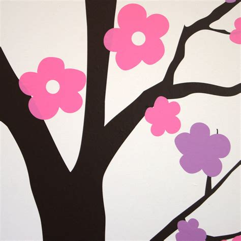 blossom tree wall sticker summer blossom tree wall stickers by parkins interiors