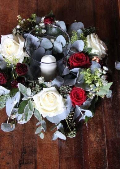 centrotavola con fiori e candele decorazioni di matrimonio per la casa pagina 2