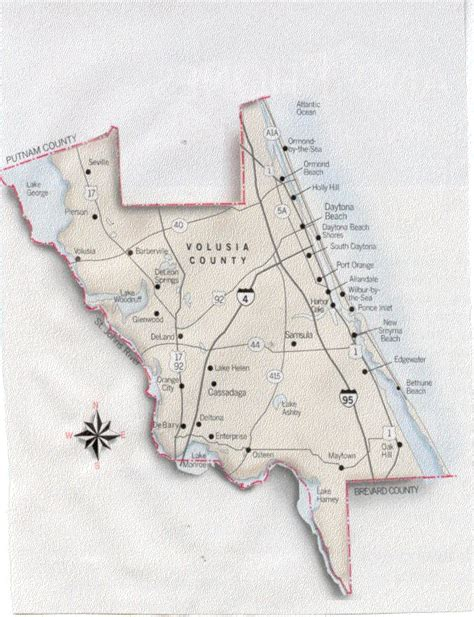 map of volusia county florida ormond rental condos and vacation homes ormond by