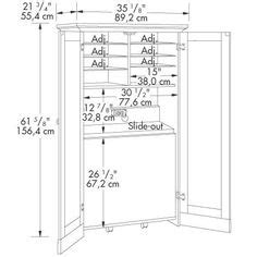 craft armoire plans armoire ideas on pinterest 16 pins