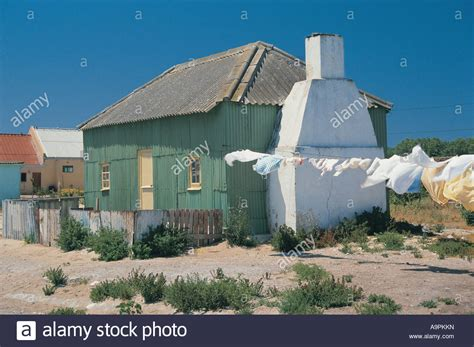 Paternoster Cottages by Cottage Paternoster Western Cape South Africa Stock Photo