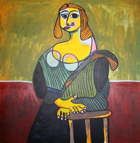The Monalisa Picasso Style By Amjad G On Deviantart