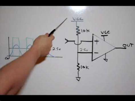 photo resistor op electronic tutorial op comparators resistor dividers theory lab