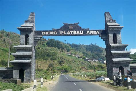 dataran tinggi dieng wonosobo indonesia travel information