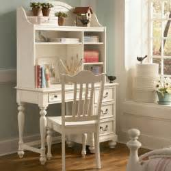 Antique White Desk With Hutch Retreat In Antique White Desk Modern Desks And Hutches By Rosenberry Rooms