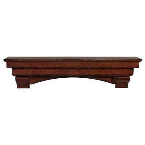 Distressed Mantel Shelf by The Auburn 5 Ft Cherry Distressed Cap Shelf Mantel 495 60