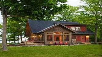 lake cabin plans designs weekend simple cottage vacation home mountain from