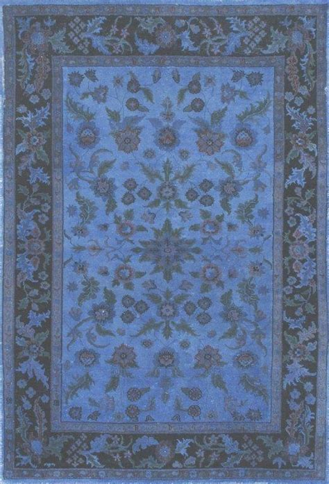 blue dye rug tavares rugs